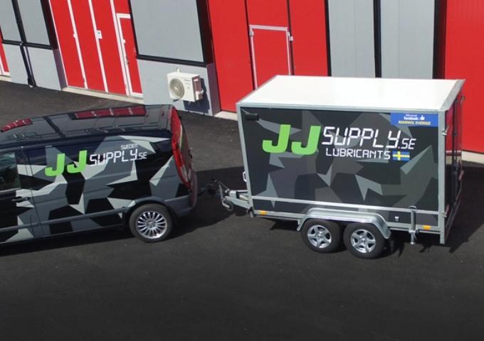 JJ Supply - smörjmedel från Brugarolas iSverige