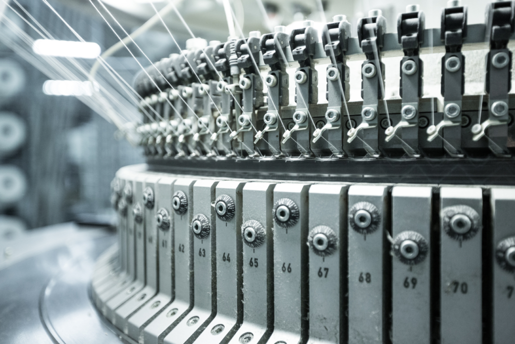 Smörjning för textilindustrin